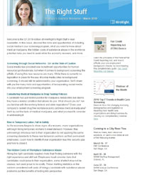 HireRight Newsletter, background screening, background check